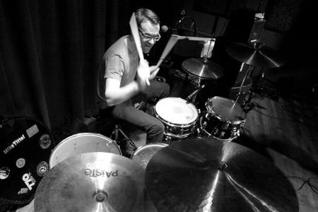 Musician drummer 6616